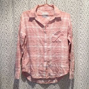 Rails S milo flannel plaid button shirt